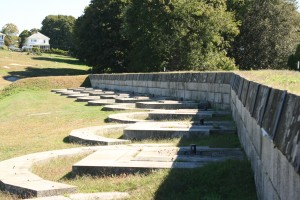 River Battery at Fort Griswold Battlefield in Groton, CT