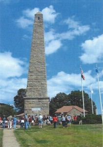 The Groton Monument and Monument Museum House