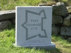 Fort Griswold granite sign