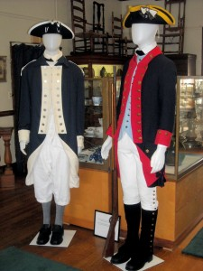 Mannequins at Fort Griswold