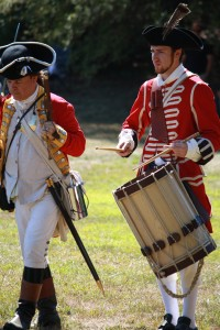 Marching into battle. The 234th anniversary of the Battle of Groton Heights