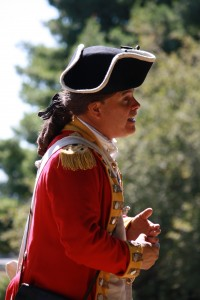 Benedict Arnold at the Ebenezer Avery House at Fort Griswold in Groton, CT