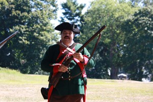 A Hessian describes his role in the battle of Fort Griswold.
