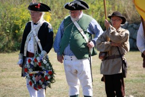 Fort Griswold wreath laying ceremony 9.6.15